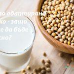 Соево адаптирано мляко – защо може да бъде опасно?